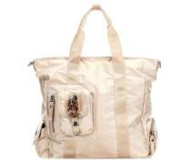 Nylon Mrs Schmidt Handtasche beige
