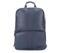 Steve 4 Laptop-Rucksack 17″ dunkelblau