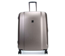 Xenon Deluxe 4-Rollen Trolley champagner