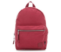 Cotton Canvas Grove X-Small Rucksack rot