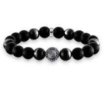 Rebel at heart Armband schwarz