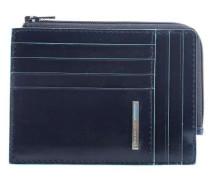 Blue Square Kreditkartenetui dunkelblau