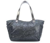 Lots Of Bag Handtasche blau metallic