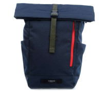 TBH Coated Tuck Pack Rolltop Rucksack 15″ navy