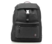 Rucksack 16″ schwarz/grau