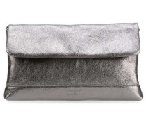 Boda Clutch silber metallic