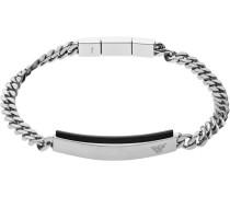 Essential Armband schwarz/silber