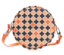 Schultertasche orange