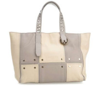 Mix NPatch Pebble M Handtasche grau/beige