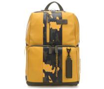 Urban Laptop-Rucksack 13″ gelb