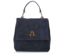 Liya Suede Rucksack-Tasche blau
