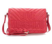 Embroidery Logo Schultertasche rot