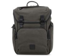 Fulham Thurloe Laptop-Rucksack 15″ dunkelgrün