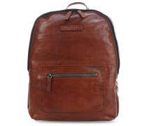 Freestyle Laptop-Rucksack cognac