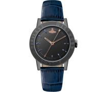 Warwick Quarzuhr blau/schwarz