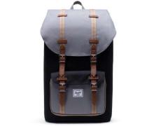 Classic Little America Rucksack 15″ schwarz/grau