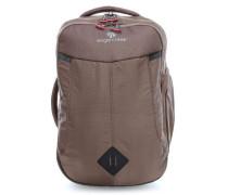 Briefcase Rucksack 17″ braun