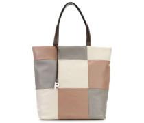 Checkered Shopper mehrfarbig
