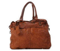 Submarine 14'' Aktentasche mit Laptopfach cognac
