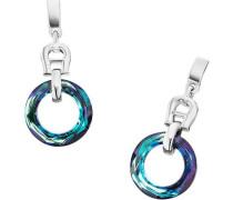 Fashion Colour Rings Ohrringe silber