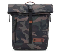 Rolltop Rucksack 15″ camouflage