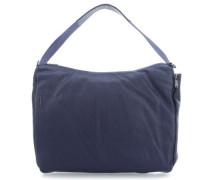 Mellow Leather Beuteltasche dunkelblau
