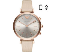 Connected Hybrid-Smartwatch roségold