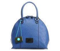 Black Mica M Handtasche blau