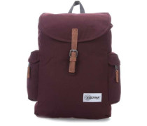 Authentic Austin Laptop-Rucksack 15″ dunkelrot