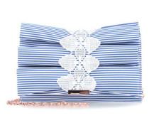 Biancca Schultertasche blau/weiß