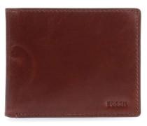 RFID Geldbörse cognac