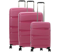 Motion 4-Rollen Trolley Set rosa