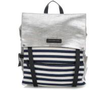 Getaway Rucksack blau/weiß