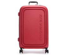 Logoduck + 4-Rollen Trolley rot 75 cm
