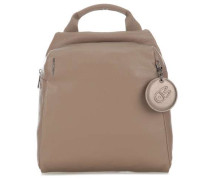 Mellow Leather Rucksack taupe