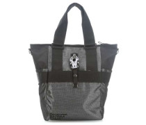 Baby2carry Rucksack-Tasche schwarz/silber