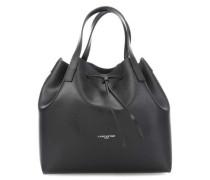 Pur Saffiano Handtasche schwarz