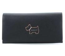 Heritage Dog Outline Geldbörse schwarz