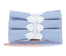 Biancca Abendtasche blau/weiß