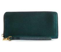 RFID Logan Geldbörse grün metallic