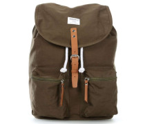 Ground Roald Ground Rucksack 13″ olivgrün