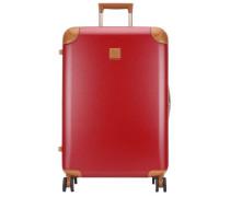 Amalfi 4-Rollen Trolley rot