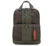 Brief Laptop-Rucksack 15,6″ olivgrün