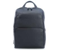 Black Square Laptop-Rucksack 13″ dunkelblau