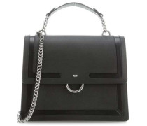 Irises Handtasche schwarz