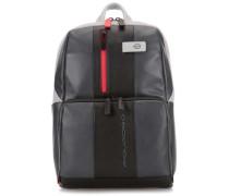 Urban Laptop-Rucksack 13″ schwarz/grau