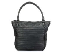 Herzchen Handtasche schwarz
