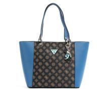 Kamryn Shopper blau/braun