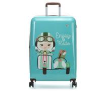 Lil'Ledy 4-Rollen Trolley türkis 68 cm