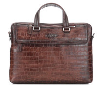 Croco Aktentasche 13″ braun